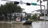 Houston Floods Air Boat
